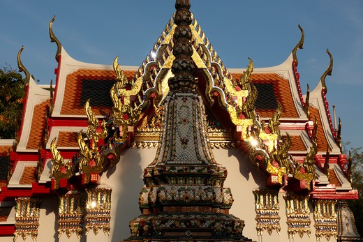 Stock Photo: 4292-21226 Thailand, Bangkok, Wat Pho, Buddhist Temple