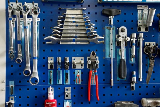 Stock Photo: 4292-2575 Mechanic tools