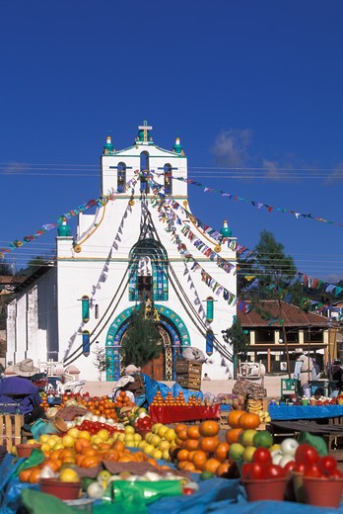 Stock Photo: 4292-31182 Chiapas, Mexico, Village of San Juan Chamula