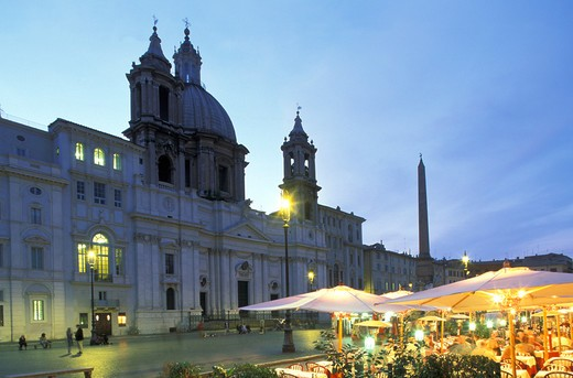 Stock Photo: 4292-31283 Rome Navona Square