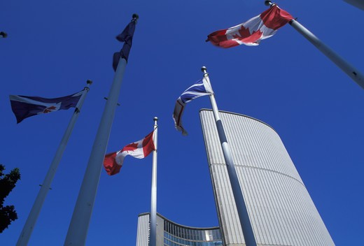 Stock Photo: 4292-31680 Canada. Ontario. Toronto.New City Hall