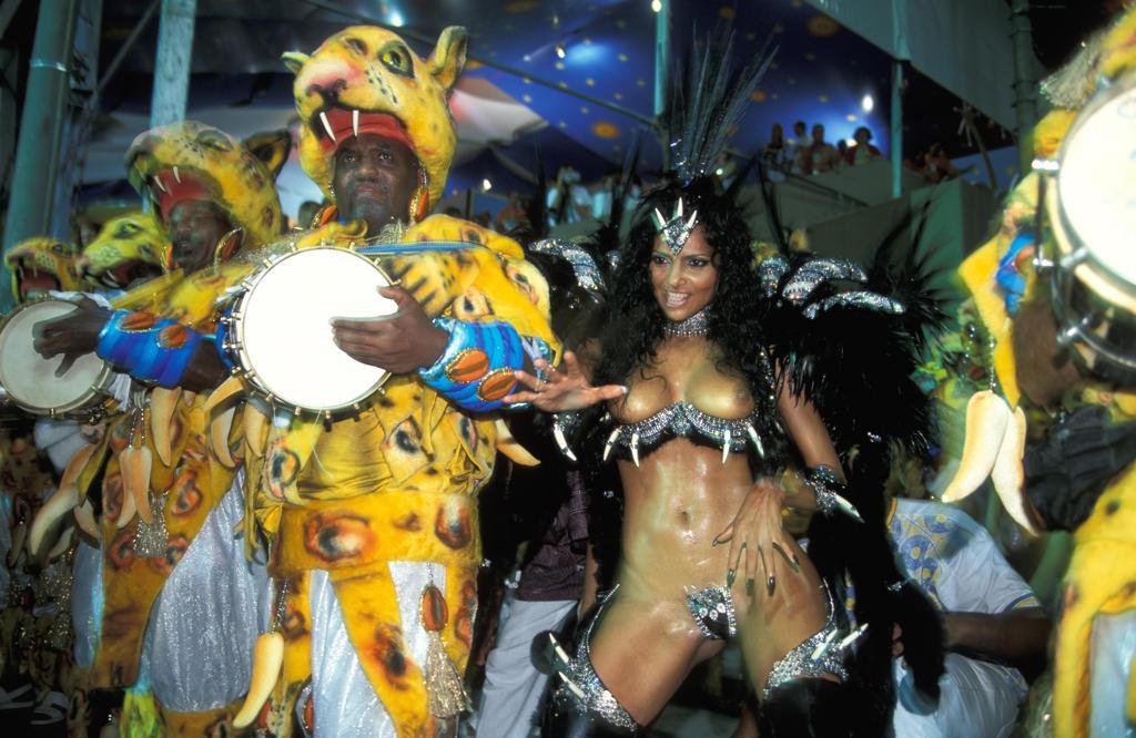 Stock Photo: 4292-32284 Brazil, Rio de Janeiro. Carnival