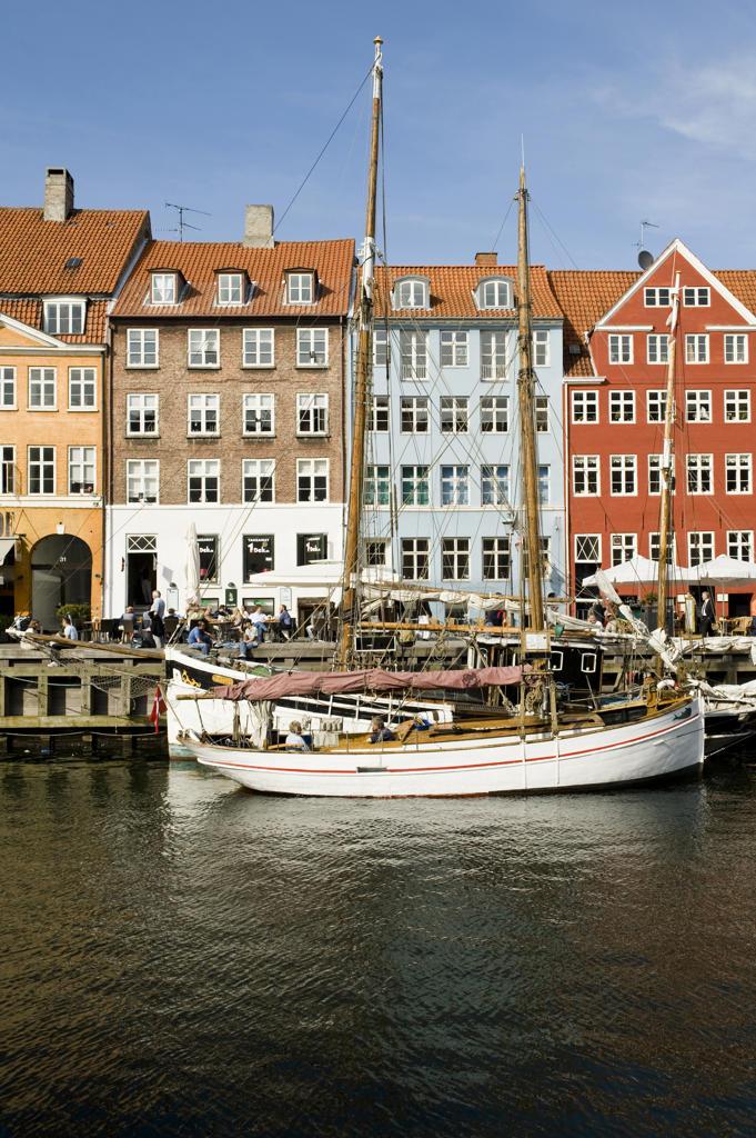 Denmark,Copenhagen,Nyhavn : Stock Photo