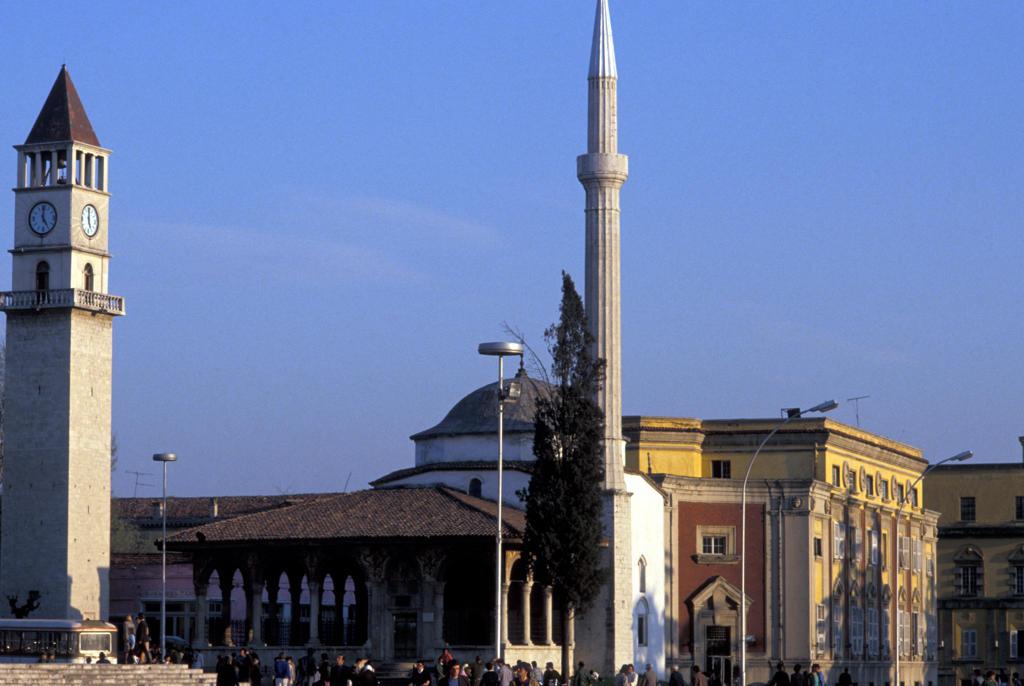 Stock Photo: 4292-33520 Albania, Tirana