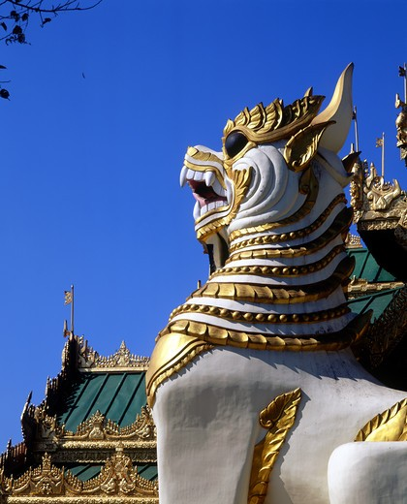 Asia, Burma, Yangon, Shwedagon Pagoda : Stock Photo