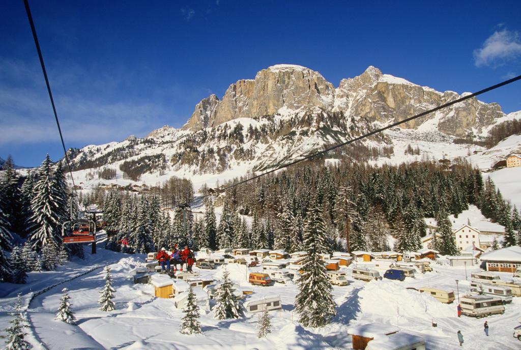 Trentino Alto Adige, Colfosco. Dolomites, Val Badia : Stock Photo
