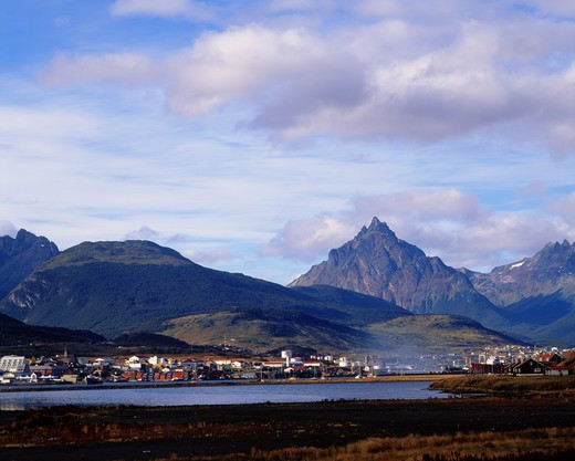 Stock Photo: 4292-33754 Argentina, Patagonia, Land of fire, Ushuaia