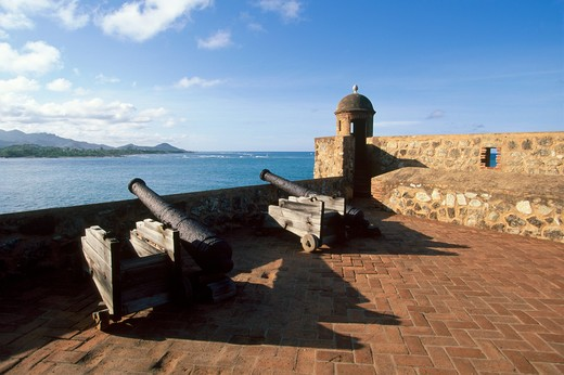 Stock Photo: 4292-34019 Dominican Republic, Puerto Plata La Fortaleza
