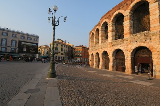 Stock Photo: 4292-3595 Italy, Veneto, Verona, the Arena