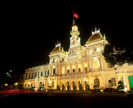 Stock Photo: 4292-36260 Vietnam, Hochiminville city hall