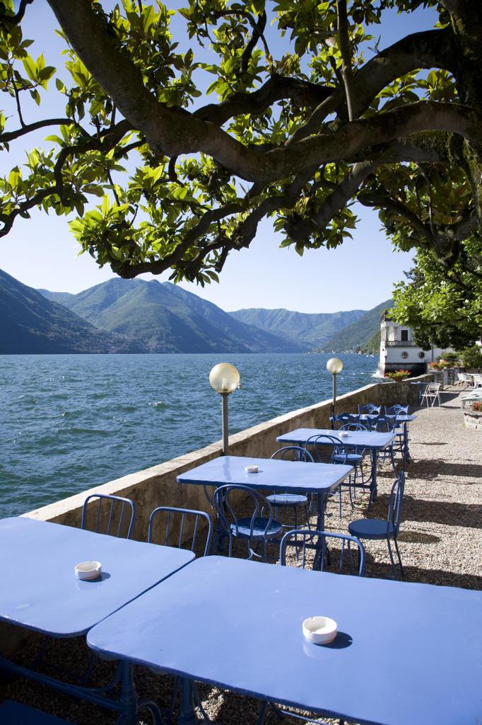 Stock Photo: 4292-37132 Italy, Lombardy, Lake Como, Argegno,