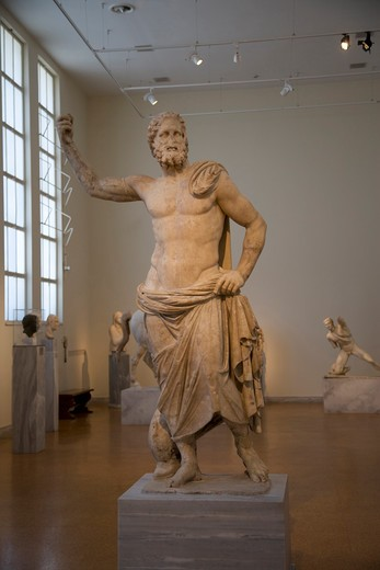 Stock Photo: 4292-37493 Greece, Athens, National Archaeological Museum, statue