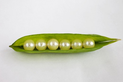 Stock Photo: 4292-38762 Peas of pearls
