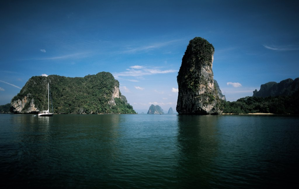 Stock Photo: 4292-40592 Phangnga Bay, Thailand