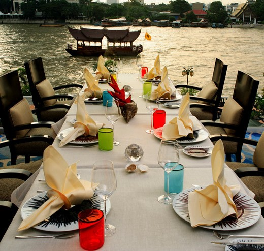 Stock Photo: 4292-42596 Lord Jim restaurant at the Oriental Bangkok