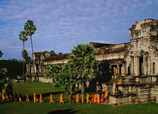 Angkor Wat, Angkor, Cambodia : Stock Photo