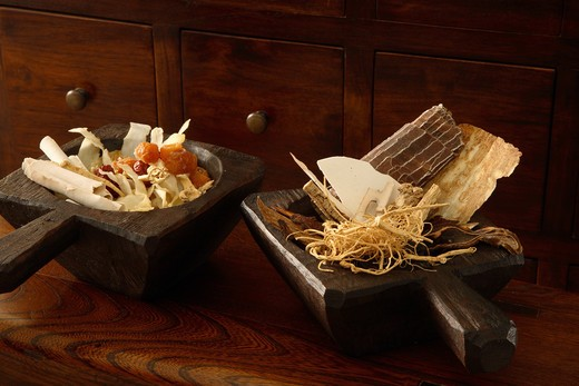 Chinese herbs : Stock Photo