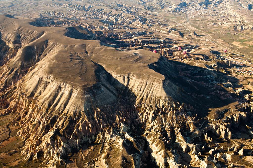 Stock Photo: 4292-4333 Turkey, Anatolia, Cappadocia, volcanic landscapes and eroded rocks
