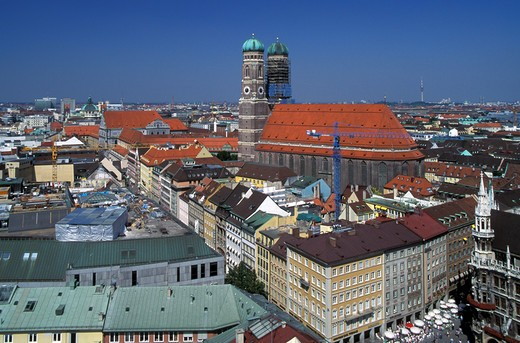 Germany, Bavaria, Munich, general view : Stock Photo