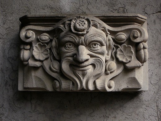 Relief. Lucerne, Switzerland : Stock Photo