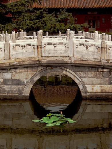 Stock Photo: 4292-45430 China, Beijing, the People's Cultural Palace. Imperial Ancestral Temple Taimiao