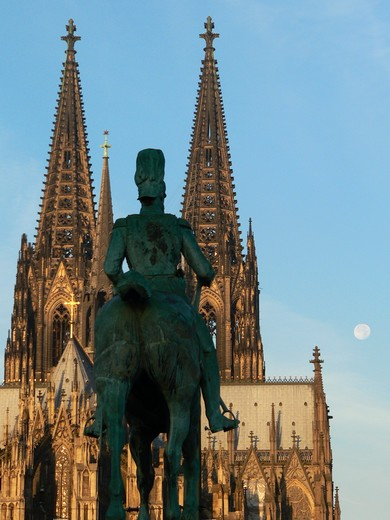 Cologne, North Rhine-Westphalia, Germany, the cathedral : Stock Photo