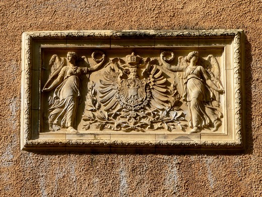 Stock Photo: 4292-45784 Bas relief, Koblenz, Germany