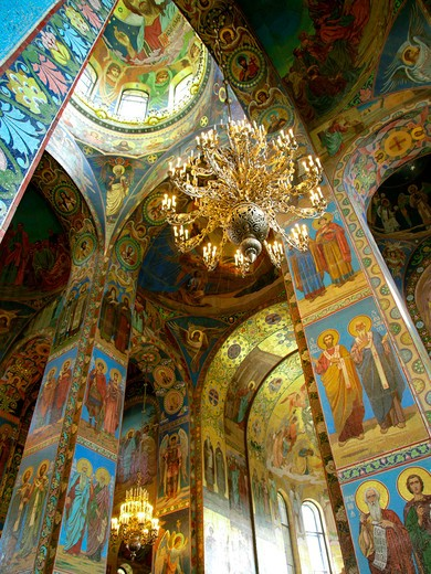 Church on Spilled Blood, St Petersburg, Russia : Stock Photo