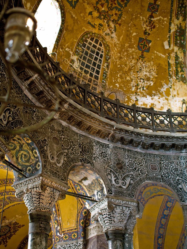 Stock Photo: 4292-46441 Turkey, Istanbul, interiors of Agia Sofia