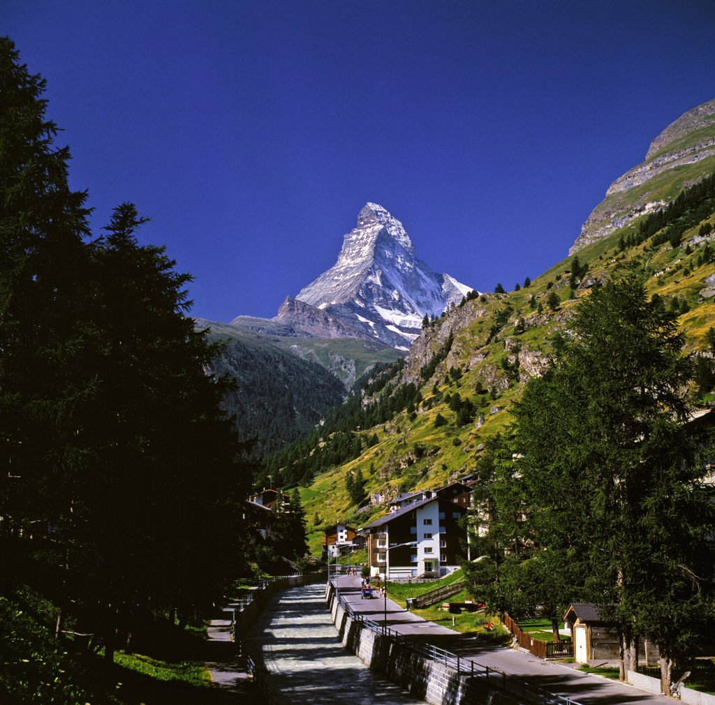 Stock Photo: 4292-47051 Matterhorn, Valais, Switzerland