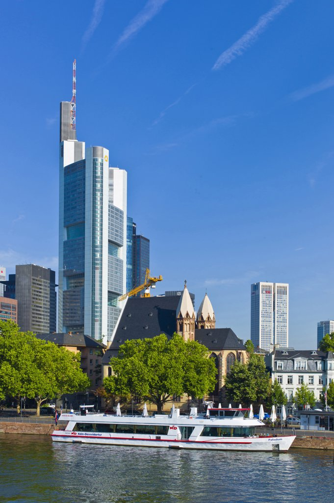 Stock Photo: 4292-47066 Germany, Hessen, Frankfurt on Main, general view