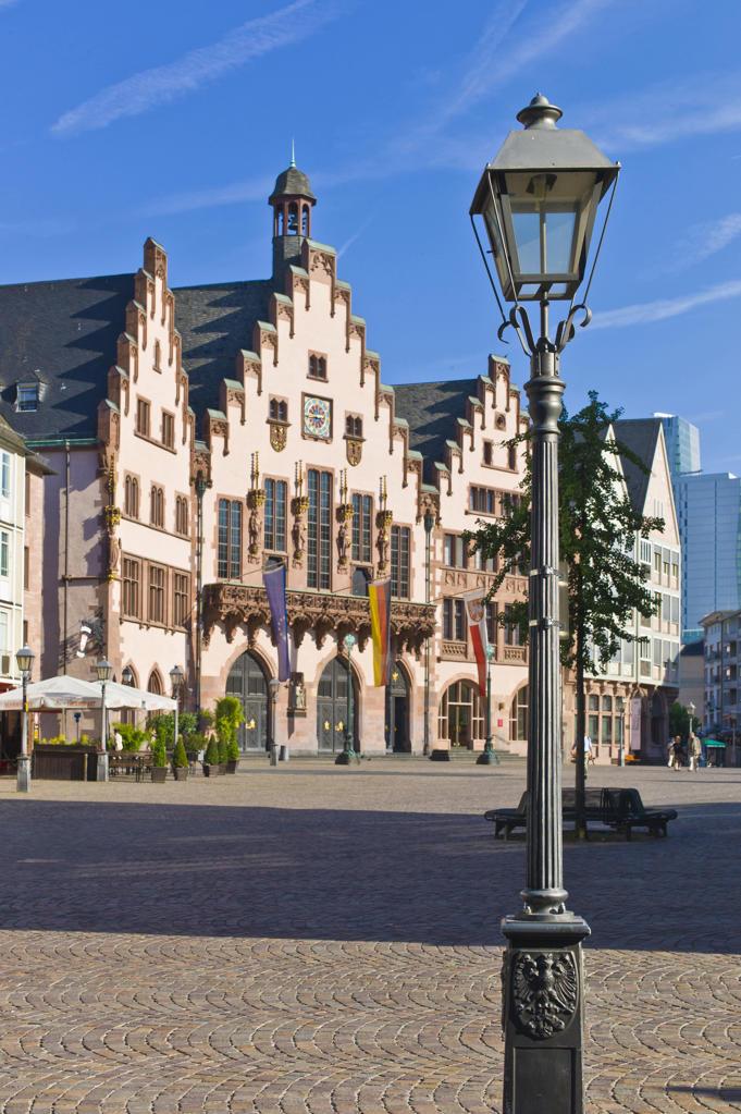 Stock Photo: 4292-47067 The City Hall, The Roemer, Frankfurt am Main, Germany