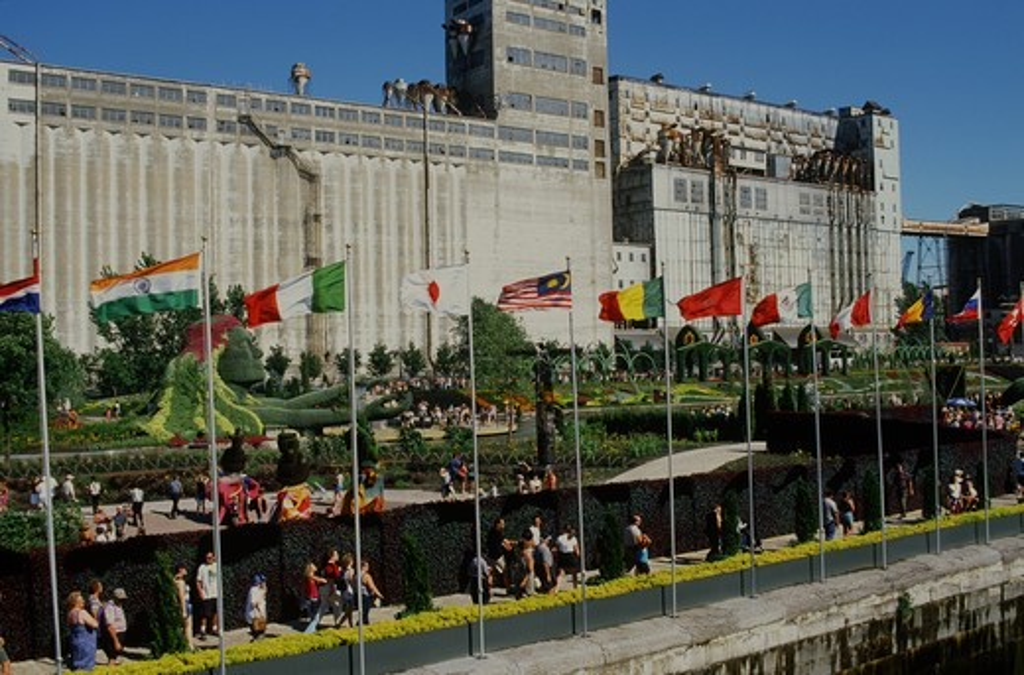 Canada, Montreal, Topiary Exhibition : Stock Photo