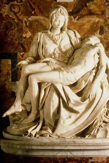 Stock Photo: 4292-49191 Italy, Vatican, the Pietà of Michelangelo