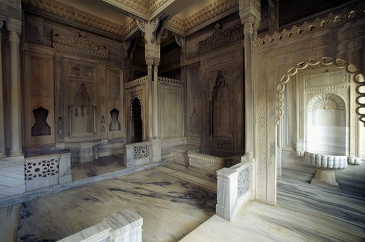 Stock Photo: 4292-52707 Turkey, Istanbul, turkish bath of Ciragan Palace