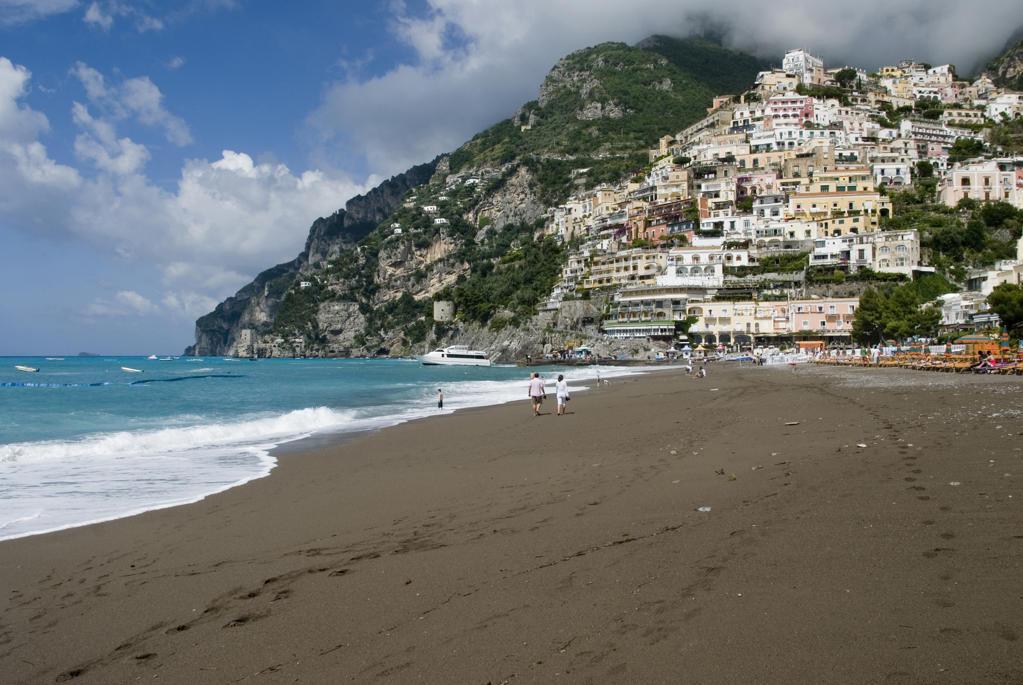 Stock Photo: 4292-53780 Italy, Campania, Amalfi coast. Positano