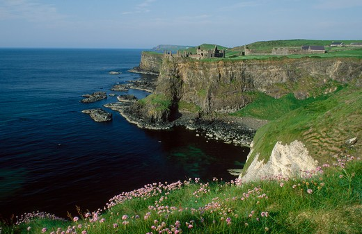 Stock Photo: 4292-54771 Dunluce Castle, County Antrim, Northern Ireland