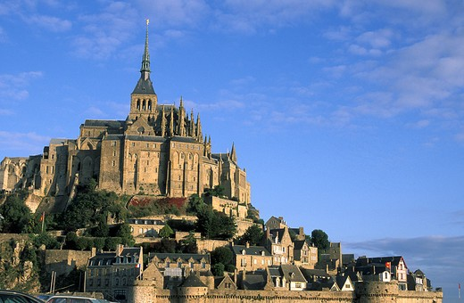 France, Normandy, Mont Saint Michel : Stock Photo