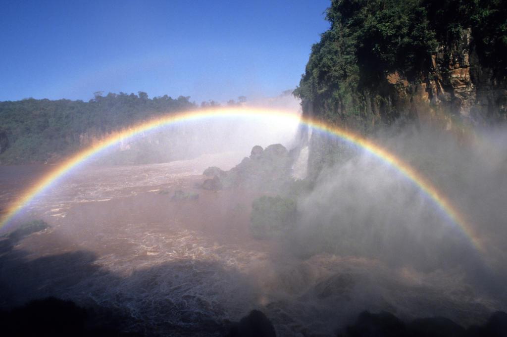 Brazil, Parana, Iguaçu falls : Stock Photo
