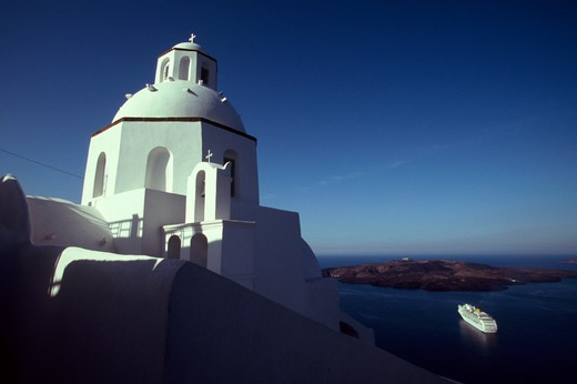 Stock Photo: 4292-57766 Greece, Cyclades Island, Santorini, Thira