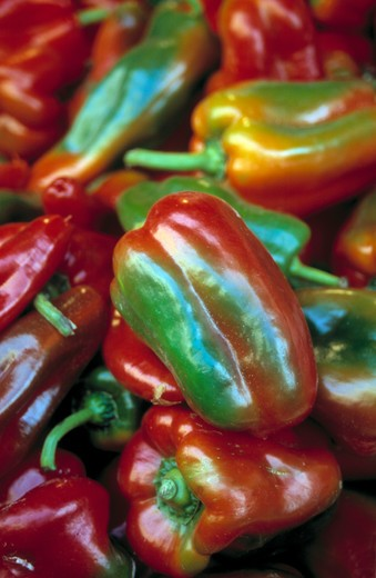 Stock Photo: 4292-58201 Red peppers