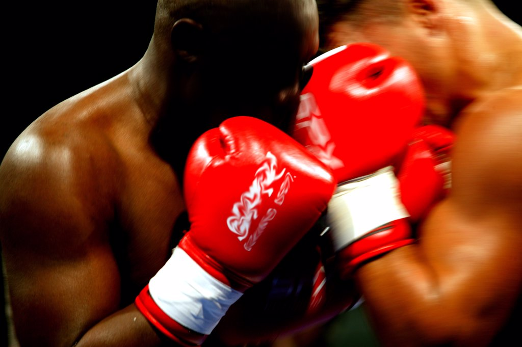 Stock Photo: 4292-59334 Boxing