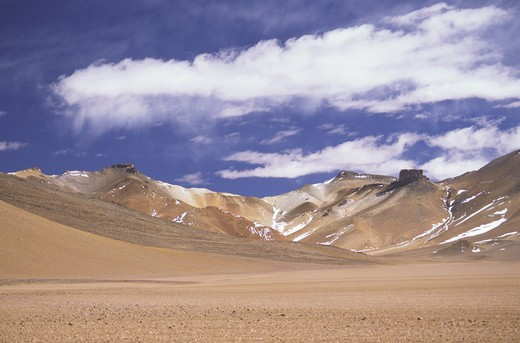 Polques desert, Bolivia : Stock Photo
