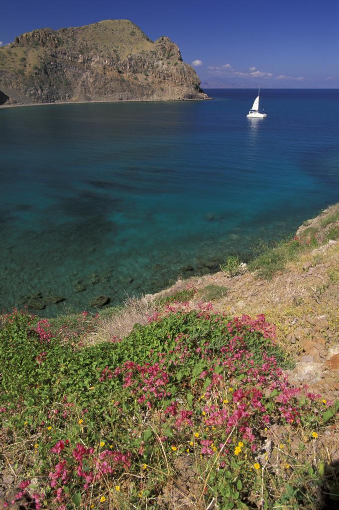 Stock Photo: 4292-61568 Anchorage at Punta San Marcial, Baja California, Mexico