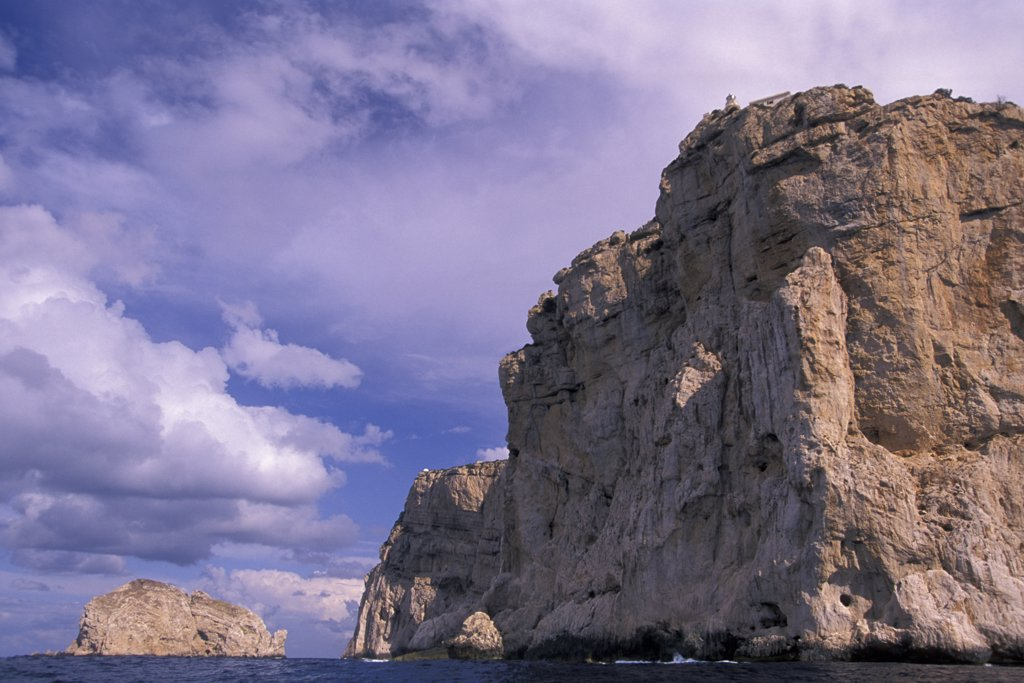 Stock Photo: 4292-61704 Italy, Sardinia, Capo Caccia and Foradada island