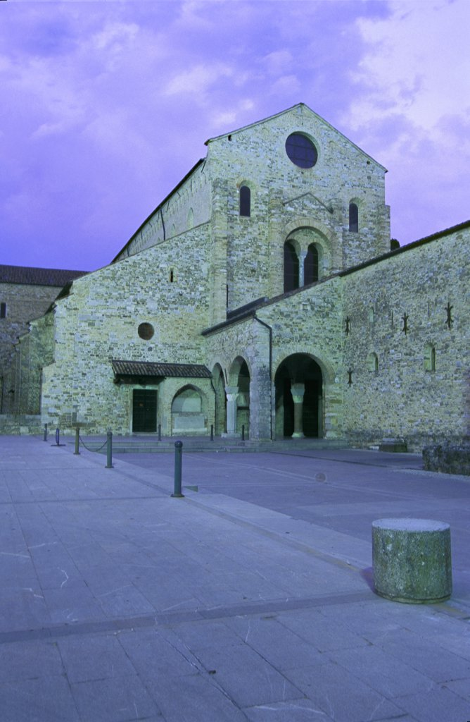 Stock Photo: 4292-62535 Italy, Friuli Venezia Giulia, Basilica of Aquileia