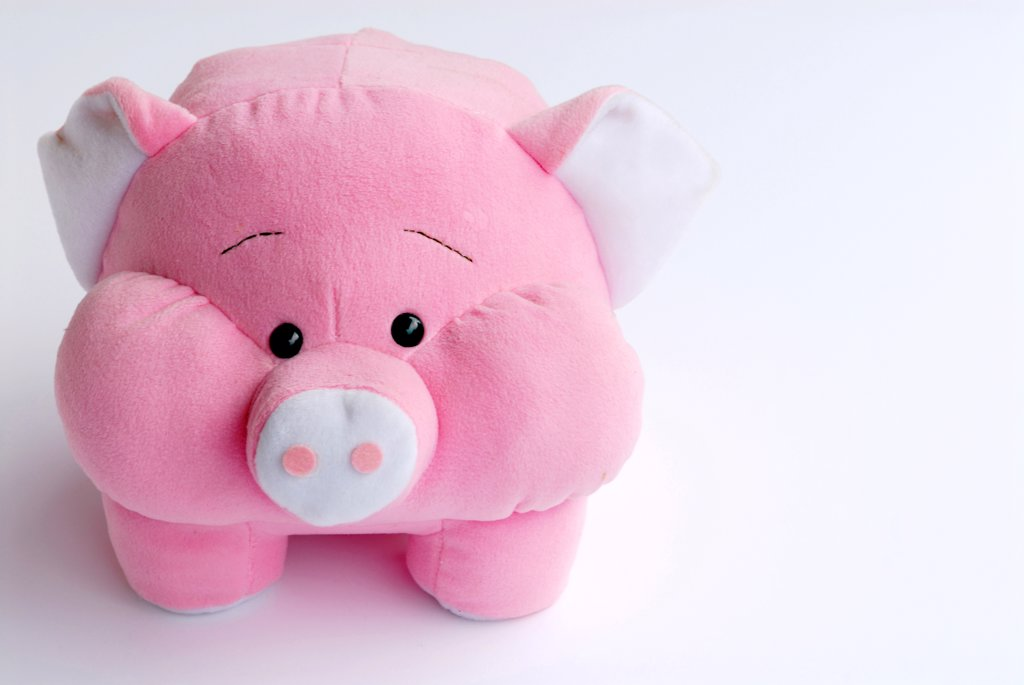 Stock Photo: 4292-62617 Lucky pig