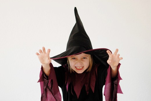Child in fancy dress : Stock Photo