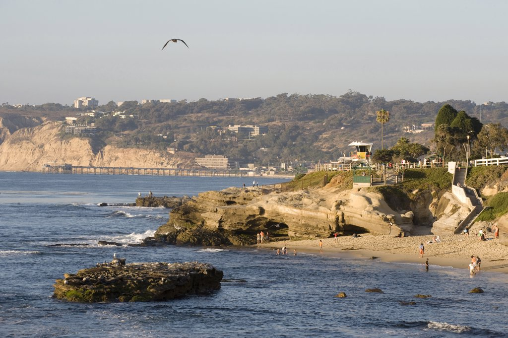 Stock Photo: 4292-63910 USA, California, San Diego, La Jolla Cove