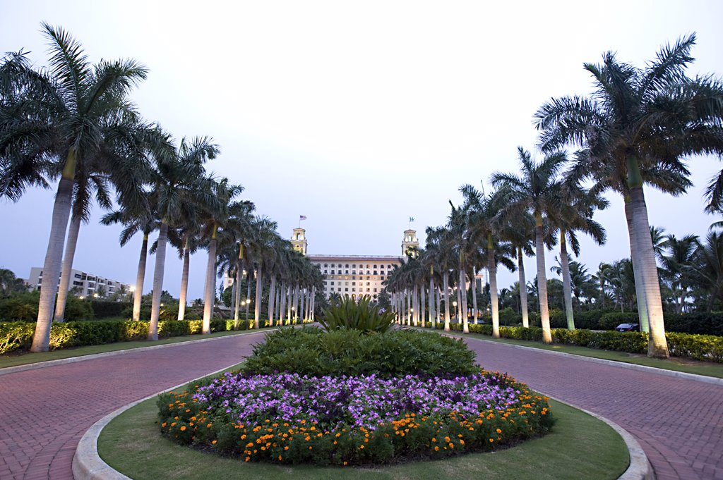 Stock Photo: 4292-64011 USA, Florida, Palm Beach, the Breakers Hotel